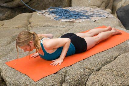 Rücken-Relax nach dem Klettern